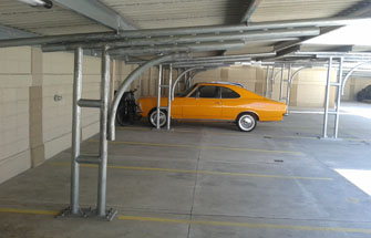 Garagens metálicas